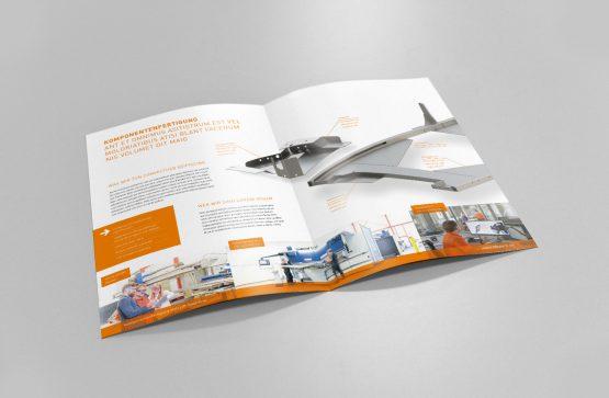 Herkules Liftwerk Broschüren Design