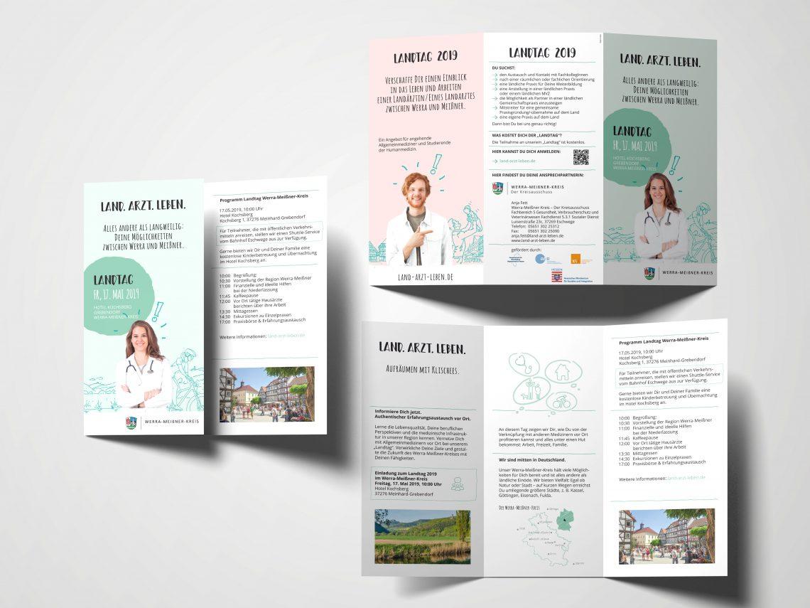 Land Arzt Leben Werra-Meissnerkreis Flyer