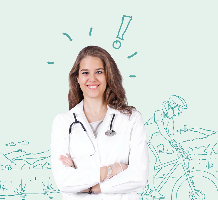 Werra Meißner Kreis Land Arzt Leben Illustration Frau