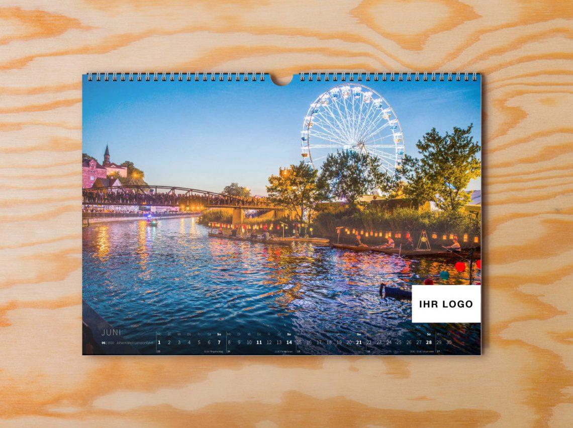 Eschwege Kalender 2020 Holz innen