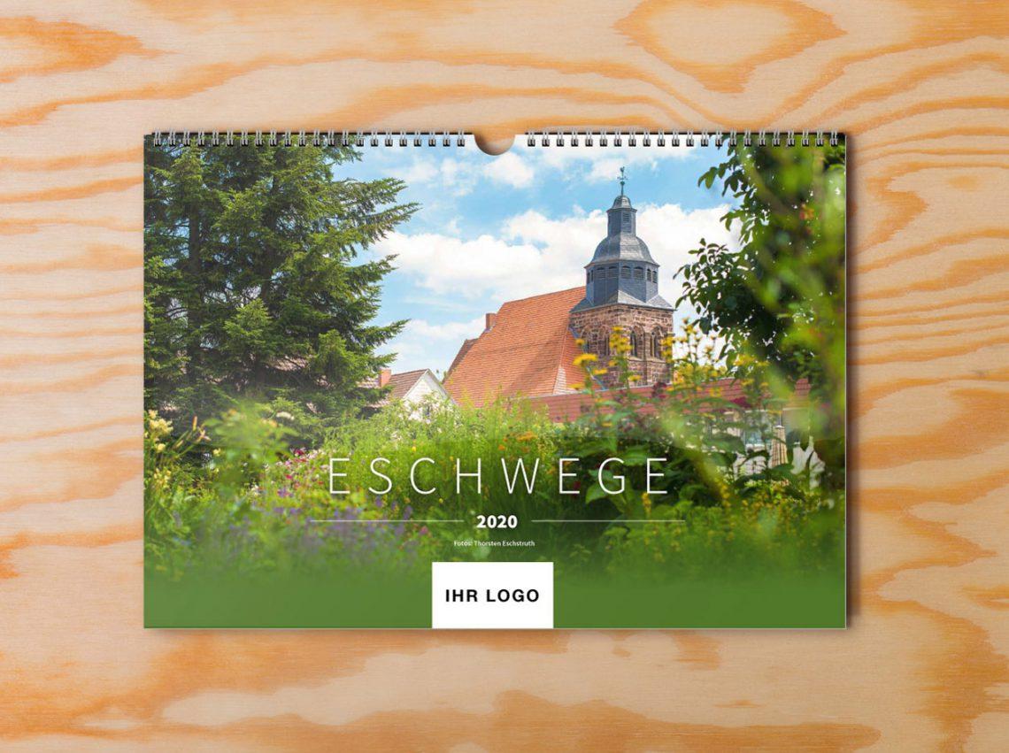 Eschwege Kalender 2020 Holz logo