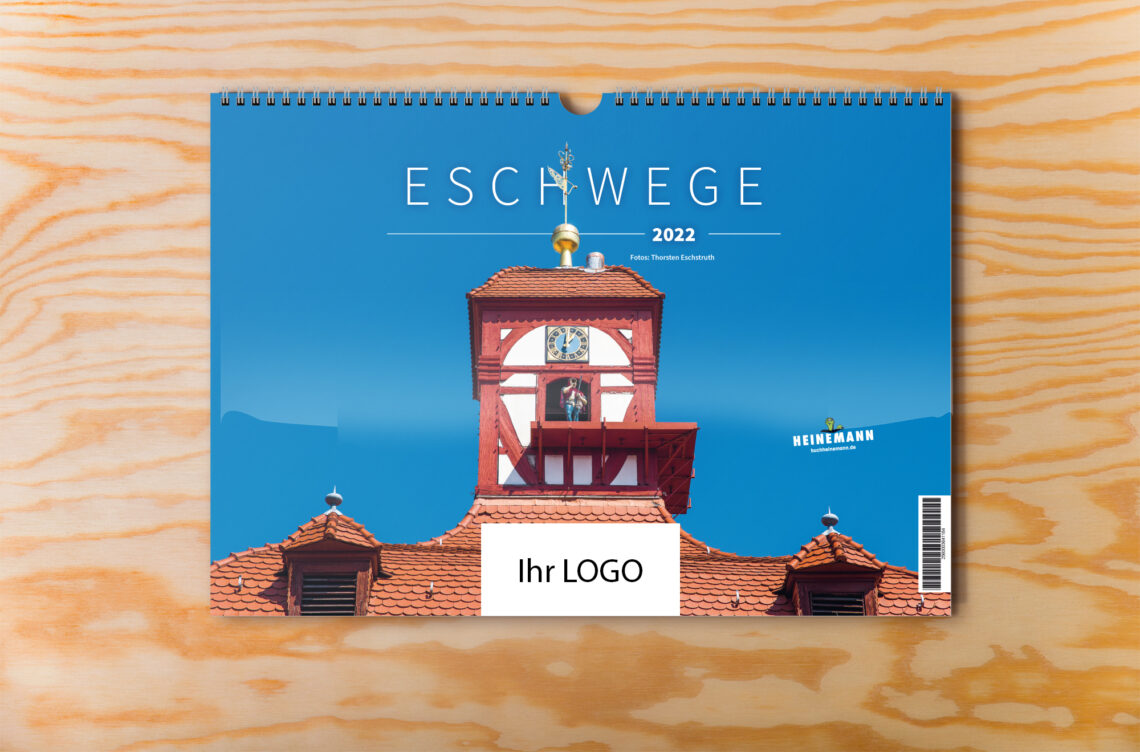 Eschwege Kalender 2022 individuelles Logo titel