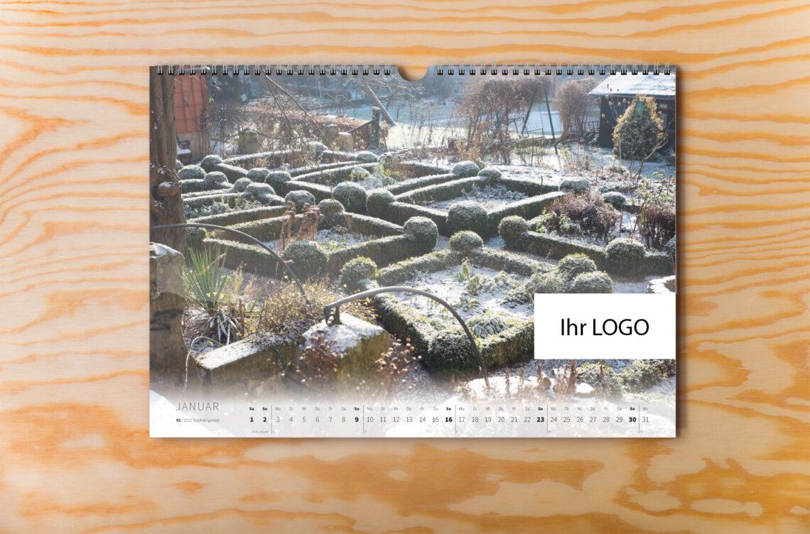 Eschwege Kalender 2022 individuelles Logo Innenseite